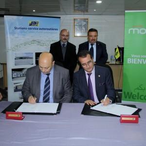 NAFTAL  signe un contrat avec ATM MOBILIS