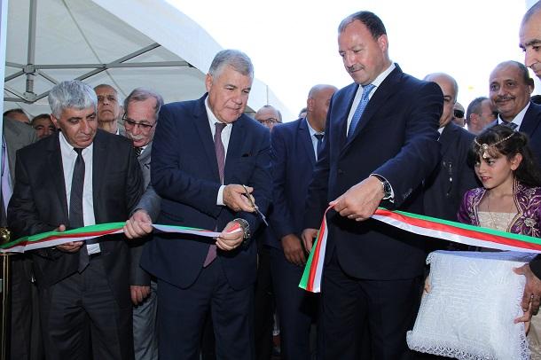 Le Ministre de l'Energie inspecte et inaugure des infrastructures de Naftal à Béjaia