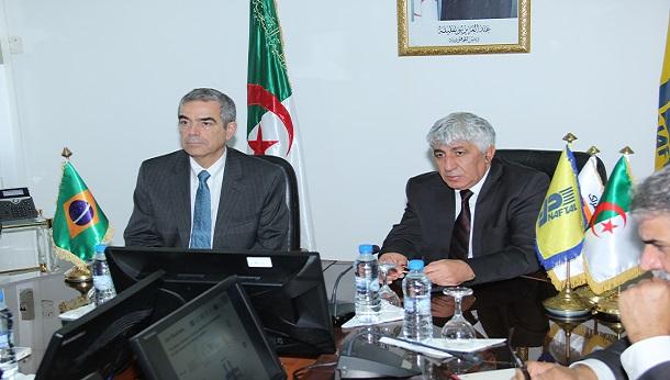 Le Président Directeur Général reçoit l'Ambassadeur du Brésil à Alger