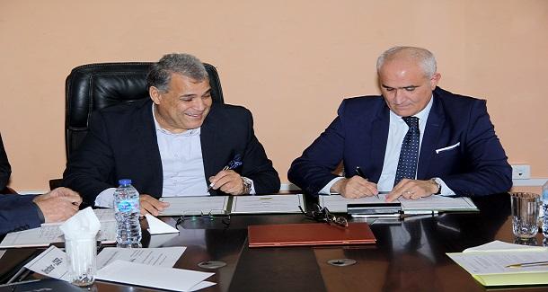 Signature d'une convention-cadre de coopération entre Naftal et la DGRSDT