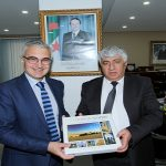 Le Président Directeur Général reçoit l'Ambassadeur   de la République de Bulgarie à Alger.