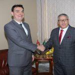 Le Président Directeur Général reçoit l'Ambassadeur de la République de Serbie à Alger