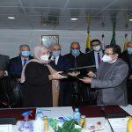 Signature du protocole d'accord entre NAFTAL et SIDER EL HADJAR