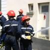 Exercice de lutte anti-incendie naftal-protection civile saida