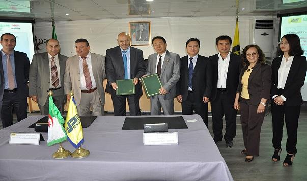 Signature d'un contrat de vente de bitumes entre Naftal et CRCC