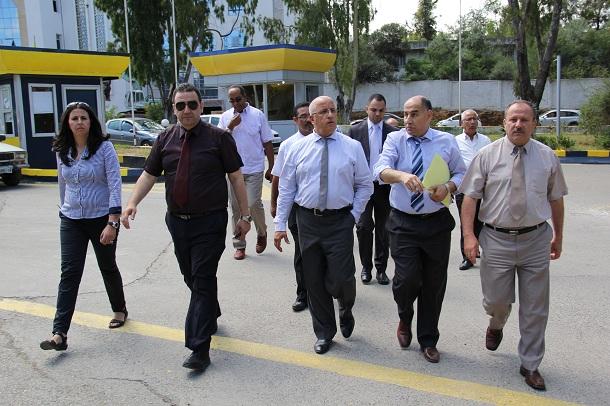 Le Président Directeur Général en visite de travail et d'inspection des installations de Naftal de la wilaya d'Alger