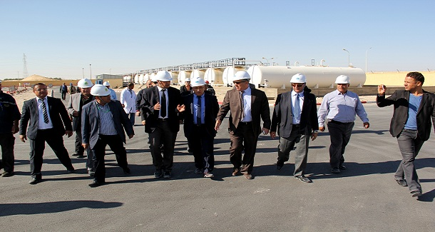 Le Président Directeur Général visite les installations de Naftal à Touggourt et El Oued