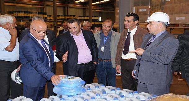 Le Président Directeur Général poursuit ses visites des installations de Naftal