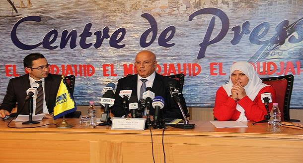 Le Président Directeur Général invité du forum El Moudjahid