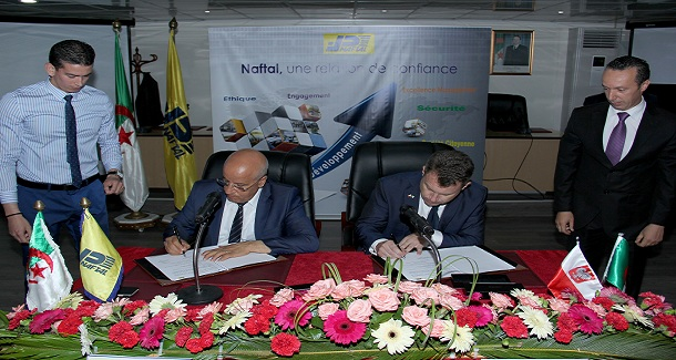 NAFTAL signe un protocole d'accord de partenariat avec EUROPEGAS