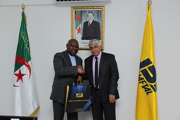 Le Directeur général reçoit l'Ambassadeur de l'Afrique du Sud à Alger