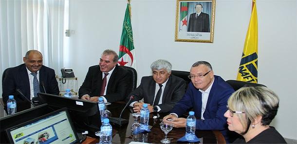 Monsieur Rachid NADIL installé dans ses nouvelles fonctions de Président Directeur Général de NAFTAL