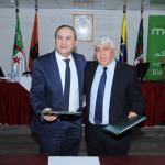 Naftal et Mobilis signent une convention portant location d'espaces destinés à l'installation des équipements de transmissions