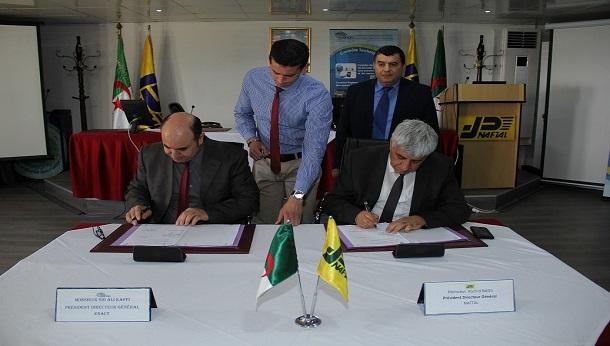 NAFTAL signe un contrat avec l'entreprise ENACT